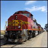GP60M 162 tied down at March, CA, on the San Jacinto Spur, 2011