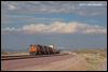 Westbound led by ES44DC 7524 at West Daggett, CA, 2010