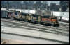 SD40-2 6904 · Union Pacific's West Colton, CA, yard in 1999