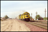 GP35 2921 eastbound at Daggett, CA, 1995