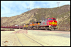 Dash9-44CW 784 • Westbound steel coils at Cajon, CA, 2000