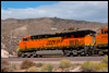 ES44DC 7421 near MP57, Cajon Pass, CA, 2008