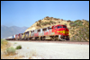 GP60M 118 eastbound at  Summit, CA, 1995