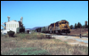 GP60 4002 leads the Escondido Local just west of Nordahl Road in San Marcos, CA, in 1997.
