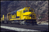 F45 5953 on the point of a westbound at Cajon, CA, 1992