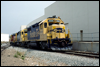 GP39-2 3606 cruises through the Miramar, CA, business park in 1989