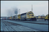 SD40-2 5203 east at San Bernardino, CA, 1989